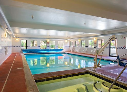 Cedar Lodge pool