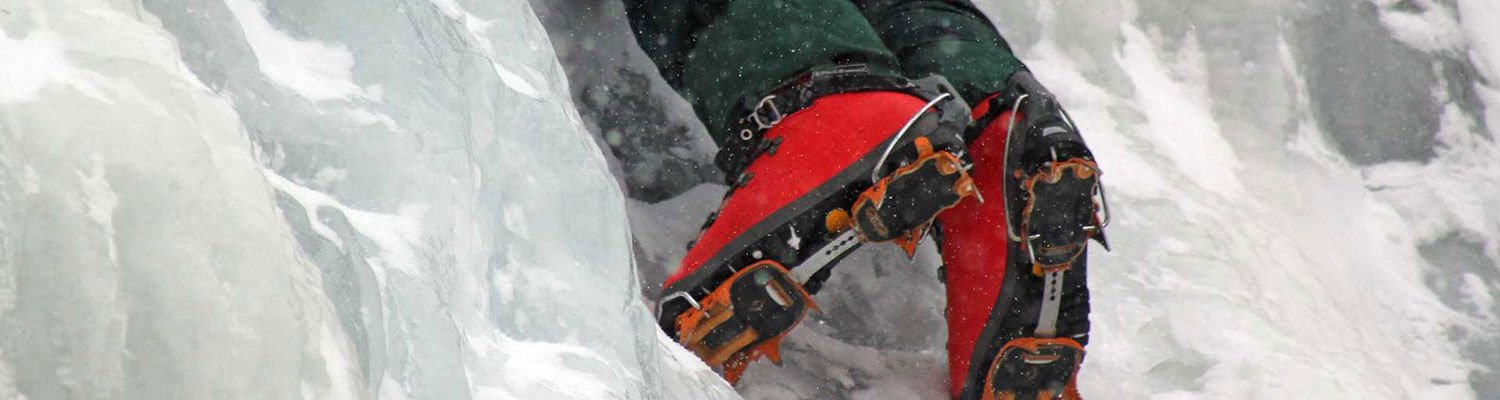 Ice Climbing in Glenwood Springs, Colorado
