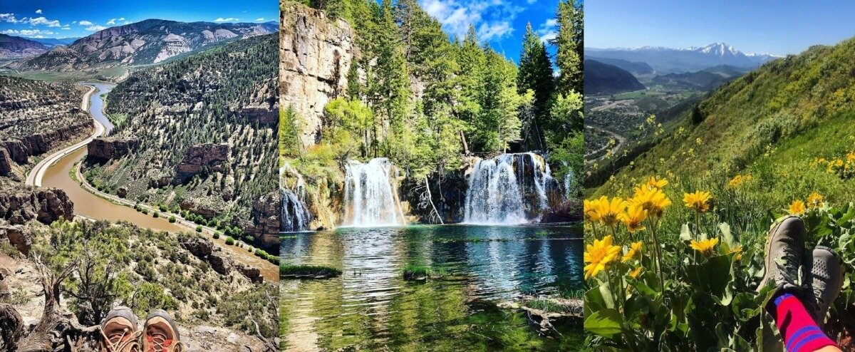 Best Hikes In Glenwood Springs Colorado Hanging Lake To Red Mountain