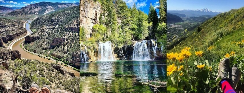 hiking trails in Glenwood Springs Area